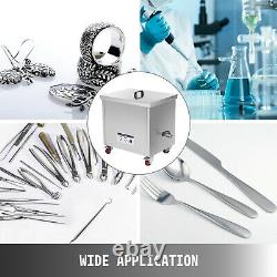 Ultrasonic Cleaner Ultrasonic Jewelry Cleaner 77L Heater Timer Sonic Cleaner