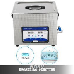 Ultrasonic Cleaner Ultrasonic Machine 10L 120/240W Degas Digital Sonic Cleaner