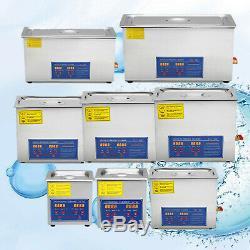 Ultrasonic Cleaners Supplies Jewelry 1.3L, 2L, 3L, 6L, 10L, 15L, 22L, 30L