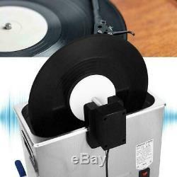 Ultrasonic Vinyl Record Cleaner Rack 4 Discs for Cleaning Machine 100-240V