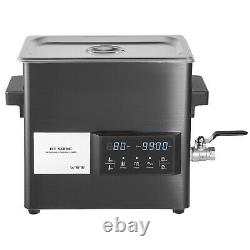 VEVOR 6L Ultrasonic Cleaner Touch Cleaning Equipment Industry with Timer & Heater