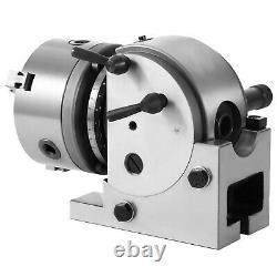 VEVOR BS-0 Precision 5'' Semi Universal Dividing Head equal division milling set