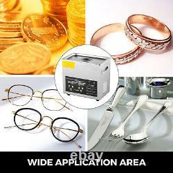 VEVOR High Power Ultrasonic Cleaner Jewelry Cleaner Heater Timer