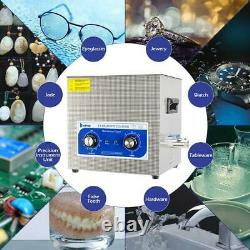 ZOKOP 10 L Ultrasonic Cleaner Jewelry Glasses Carbs powerful transducer