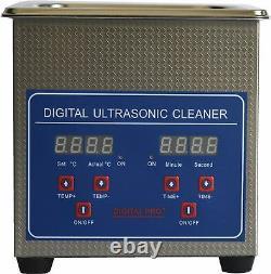 1.3l Machine De Nettoyage Ultrasonore En Acier Inoxydable Jps-08a 110v/220v