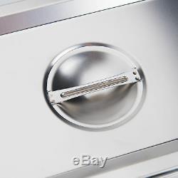 1,6 Gal. (6l) Nettoyeur À Ultrasons Bijoux Machine De Polissage Avec Chauffage Minuterie