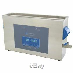 10 Litres Numérique Cavitek 40khz Paillasse Nettoyeur À Ultrasons Bain Industriel