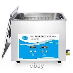 10l Digital Ultrasonic Cleaner Jewelry Ultra Sonic Bath Degas Nettoyage Des Pièces