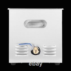 10l Digital Ultrasonic Cleaner Kit Ultra Sonic Heat Cleaning Jewellery Gun