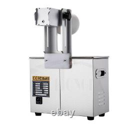 110v/180w 6l Digital Ultrasonic Record Cleaner Album Disque Deep Washing Machine