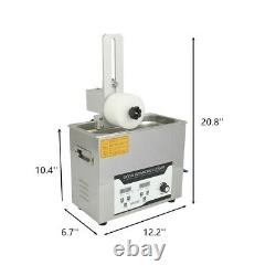 110v Liftable Vinyl Record Ultrasonic Cleaner Disc Lp Album Deep Washing Machine