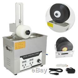 110v Relevable Ultrasons Disque Vinyle Cleaner Lp Album Disc Deep Cleaner Laver