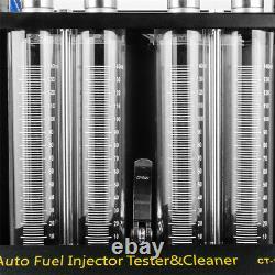 110v Ultrasonic Fuel Injecteur Nettoyeur Nettoyage Teater Machine Pour Moto De Voiture