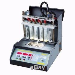 110v Voiture Carburant Moto Injecteur Nettoyeur À Ultrasons Testeur D'injection