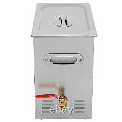15l Industrie Digital Ultrasonic Cleaner Heater Timer Stainless Jewel Clean Tank