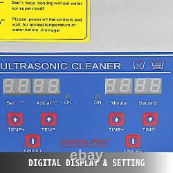 15l Nettoyant Ultrasonic Nettoyage Dental Transducteurs Médical Home User 760w Chauffage