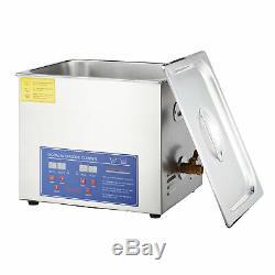 15l Professionnel Électrique Numérique À Ultrasons Nettoyeur À Ultrasons Usage Commercial