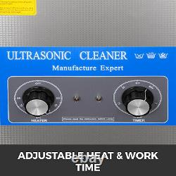 15l Ultrasonic Cleaner Stainless Steel Professional Knob Control Avec Heatertimer