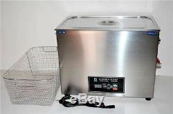 1600w 30l Double 20khz Ou 40khz Cleaner Commercial Grade Ultrasons Pièces + Panier