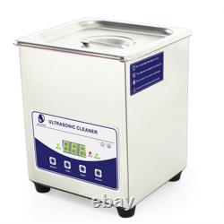 2 Litres, L'industrie De L'acier Inoxydable Chauffée Nettoyeur Ultrasonique Plus Longue