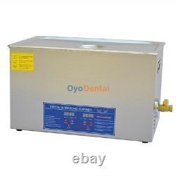 30l Grande Capacité Acier Inoxydable Machine De Nettoyage Ultrasonique De Nettoyage Jps-100a