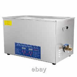 30l Liter Ultrasonic Cleaner Industry Cleaning Equipment Heater With Timer Digital