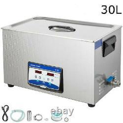 30l Nettoyeur À Ultrasons Numérique Mini Machine De Lavage Portable- Offre Limitée
