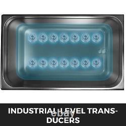 316 Acier Inoxydable 6l Nettoyeur Ultrasonique Chauffage En Acier Inoxydable Avec Panierball