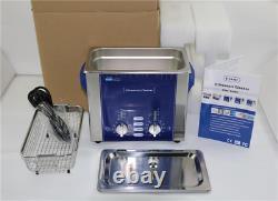 3l Nettoyeur À Ultrasons Baignoire Degas Balayage 160w Dr-ds30 Dental Lab Acier Inoxydable
