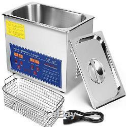 3l Professional Machine Nettoyeur À Ultrasons Numérique Avec Minuterie Nettoyage À Chaud Us