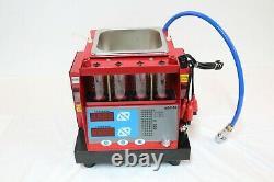 4 Pots Cylinder Automotive Injector Tester Nettoyeur À Ultrasons Pour Essence
