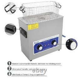 6l 180w Digital Heated Industrial Stainless Steel Ultrasonic Parts Cleaner (en)
