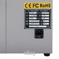 6l Ultrasons Disque Vinyle Cleaner Système De Nettoyage Machine Withdrying Rack
