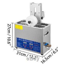 6l Ultrasons Enregistrement Cleaner 6 Disques Vinyle Ultrasons Machine De Nettoyage