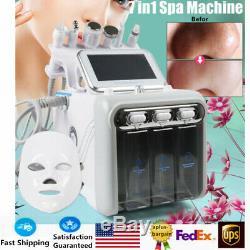 7in1 Spa Eau Propre Visage Dermabrasion Machine À Ultrasons Massage Beauté