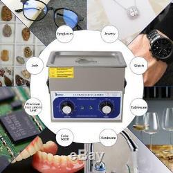 Acier Inoxydable 3l Litres Industrie Nettoyeur À Ultrasons Chauffants Chauffe-minuterie