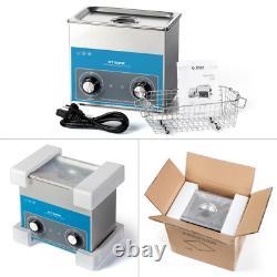 Acier Inoxydable Ce 3 L Litre Industrie Chauffante Nettoyeur Ultrasonore / Minuterie