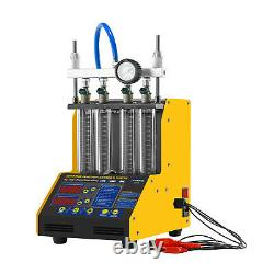 Autool Ct-150 Injector Nettoyeur À Ultrasons Testeur Pour L'essence Auto Moto USA