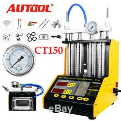 Autool Ct-150 Ultrasons Carburant Essence Injector Cleaner Testeur Auto Moto