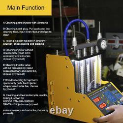 Autool Ct150 220 / 110v Puissance Voiture Moteur Ultrasonique Injecteur Cleaner Testeur