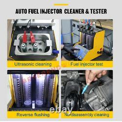 Autool Ct150 À Ultrasons D'injecteur De Carburant Testeur Nettoyeur 12v 24v Voiture Van Motor USA