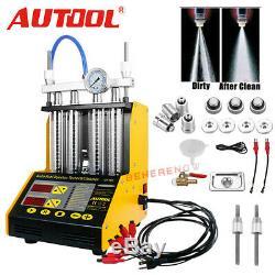 Autool Ct150 Auto Moto Nettoyeur À Ultrasons Injecteur De Carburant Testeur Machine 220 V