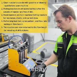 Autool Ct150 Essence Voiture Carburant Injector Testeur De Nettoyage Machine De Nettoyage À Ultrasons