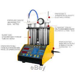 Autool Ct150 Ultrasons Essence D'injecteur De Carburant Testeur De Nettoyage Pour 12v 24v Voiture