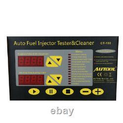 Autool Ct150 Ultrasons Injector Essence Nettoyant Et Testeur Pour Voiture Moteur Van