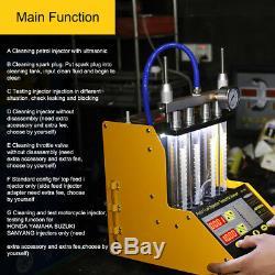 Autool Ct150 Voiture Van Motor Nettoyeur À Ultrasons Injecteur De Carburant Testeur 12v 24v