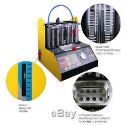 Autool Ct200 Ultrasons Automotive Fuel Injector Cleaner Et Testeur Pour L'essence De Voiture