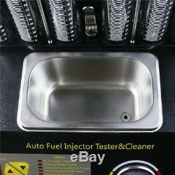 Autool Ct200 Ultrasons Injecteur Cleaner Kit Testeur Pour L'essence Voiture À Moteur