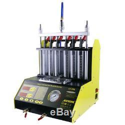 Autool Ct200 Ultrasons Nettoyeur D'injecteur De Carburant Testeur Machine-outil 220v / 110v