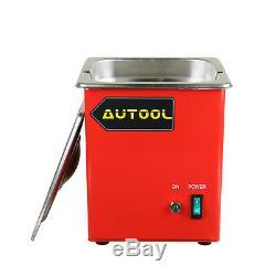 Autool Nettoyeur À Ultrasons Petrol Injector Bougie Boîte Pour Cnc602a Outils De Nettoyage